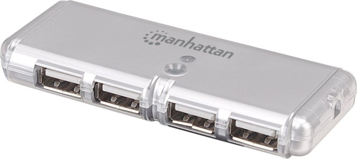 Manhattan Hi-Speed USB 2.0 Pocket Hub, 4-Port (160599) -- via Amazon Partnerprogramm