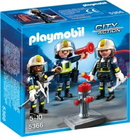 playmobil City Action - Feuerwehr-Team (5366)