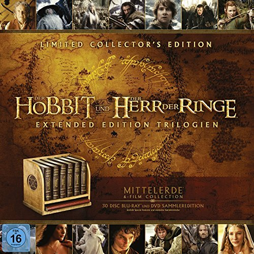 Mittelerde Ultimate Collector's Edition (Blu-ray)