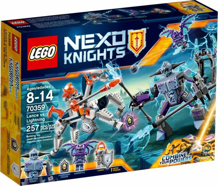 LEGO Nexo Knights - Lance vs  lightning (70359)