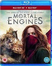 Mortal Engines (3D) (Blu-ray) (UK)