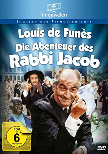 Louis de Funes - Die Abenteuer des Rabbi Jacob -- via Amazon Partnerprogramm