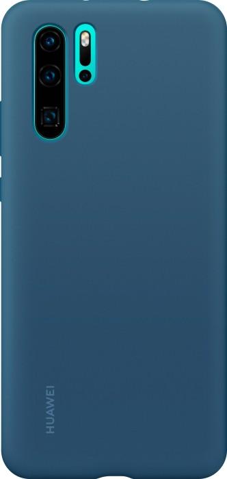 Huawei Silicone Car Case für P30 Pro blau (51992878)