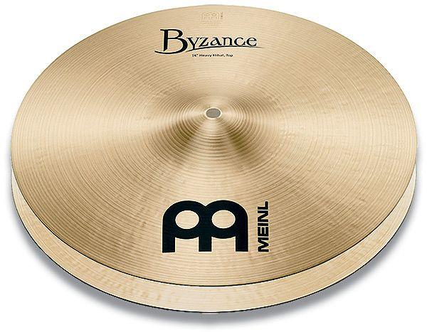 "Meinl Cymbals Byzance Traditional Heavy Hi-Hat 14"" (B14HH)"