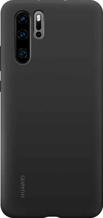 Huawei Silicone Car Case für P30 Pro schwarz (51992872)