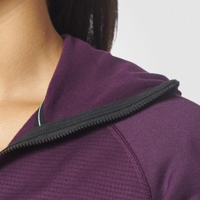 adidas Terrex Stockhorn Hoody Jacke violett (Damen) (BR8683) ab € 129,99
