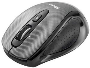 Trust MI-7760Cp Wireless Laser Mini Mouse Carbon Edition, USB (15867)