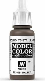 Vallejo Model Color 147 leather brown (70.871)