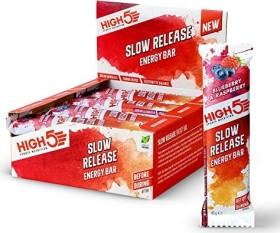 High5 Slow Release Energy Bar Blueberry & Raspberry 640g (16x 40g)