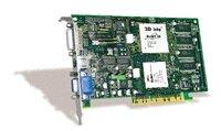 3Dlabs Oxygen GVX1 Pro, Glint R4/Glint gamma 2, 64MB, DVI, AGP, retail