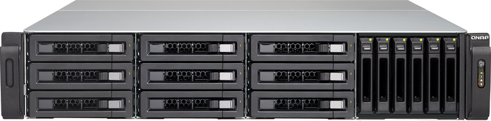 QNAP TVS-EC1580MU-SAS-RP-16G-R2, 2x 10GBase, 4x Gb LAN, 2HE