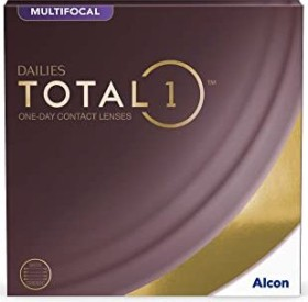 Alcon Dailies Total1 Multifocal, -1.25 Dioptrien, 90er-Pack