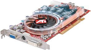 Various ATI Radeon 9800 XT, 256MB DDR, DVI, TV-out, AGP