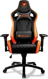 Cougar Armor S gaming chair, black/orange