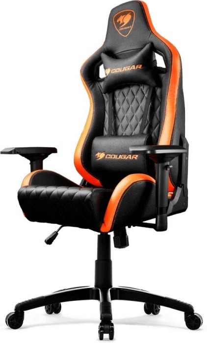 Brilliant Cougar Armor S Gaming Chair Black Orange Skinflint Price Machost Co Dining Chair Design Ideas Machostcouk