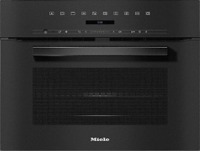 Miele H 7240 BM oven with microwave obsidian black (11104080)