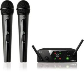 AKG WMS40 Mini2 Dual Vocal set (various frequencies)