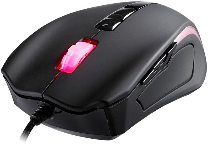 c6f61f3765b Tt eSPORTS Black element Gaming Mouse, USB (MO-BLE001DT) starting ...