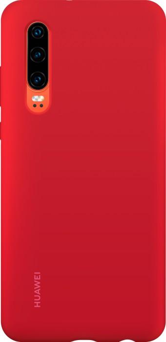 Huawei Silicone Car Case für P30 rot (51992848)