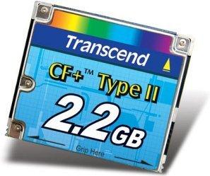 Transcend MicroDrive 2.2GB (TS2GCFHD)