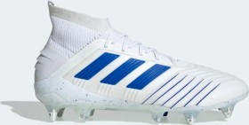 adidas Predator 19.1 SG ftwr white/bold blue/ftwr white (Herren) (D98055)