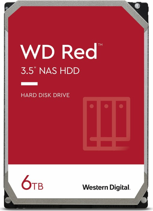 Western Digital WD Red 6TB, SATA 6Gb/s (WD60EFAX)