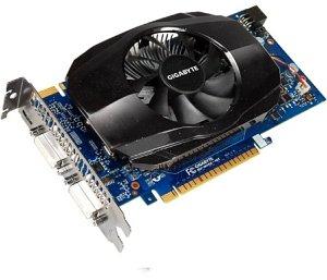 Gigabyte GeForce GTS 450, 1GB GDDR5, 2x DVI, mini HDMI (GV-N450-1GI)