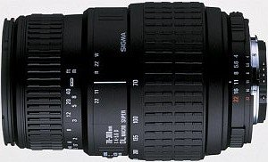 Sigma AF 70-300mm 4.0-5.6 DL Super macro for Canon EF black