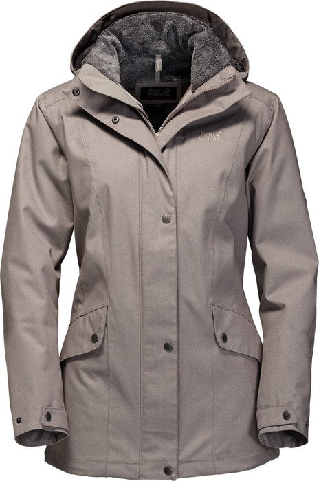 best sneakers 5c697 38fe7 Jack Wolfskin Park Avenue Jacke moon rock (Damen) ab € 177,95