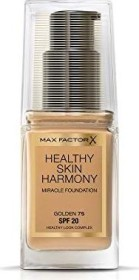 Max Factor Healthy Skin Harmony Miracle Foundation 75 Golden, 30ml
