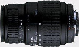 Sigma AF 70-300mm 4.0-5.6 DL Super Makro für Sony/Konica Minolta schwarz