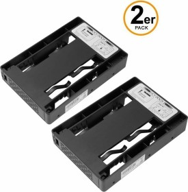 """Icy Dock MB882SP-1S-3B DUAL, 2.5"""" to 3.5"""" adapter, mounting frame, 2-pack"""