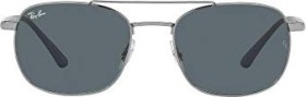 Ray-Ban RB3670 54mm gunmetal-sand blue/blue-grey classic (RB3670-004/R5)