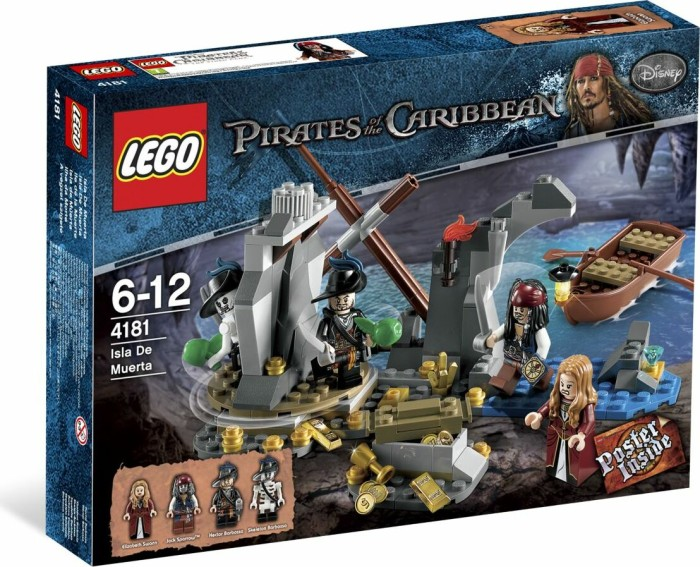 LEGO - Pirates of the Caribbean - Isla De Muerta (4181) -- via Amazon Partnerprogramm