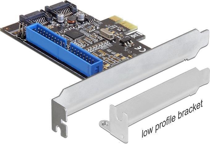 DeLOCK 1x IDE/2x SATA 6Gb/s, PCIe 2.0 x1 (89293)