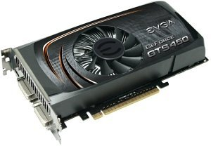EVGA GeForce GTS 450 Superclocked, 1GB GDDR5, 2x DVI, mini HDMI (01G-P3-1452)