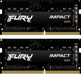 Kingston FURY Impact SO-DIMM Kit 8GB, DDR4-2400, CL14-14-14 (KF424S14IBK2/8 / HX424S14IBK2/8)