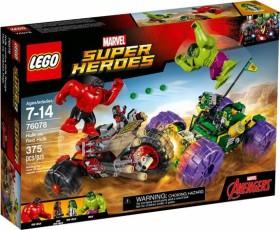 LEGO Marvel Super Heroes Play Set - Hulk vs. Red Hulk (76078)