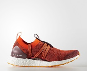 adidas Ultra Boost X clay red/radiant orange/apricot rose (Damen) (CG3686)