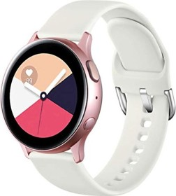 Wepro Silikonarmband S für Samsung Galaxy Watch Active 2 40mm beige
