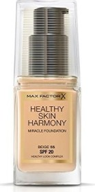 Max Factor Healthy Skin Harmony Miracle Foundation 55 Beige, 30ml