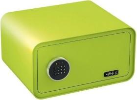 Basi mySafe 430 Tresor, grün, elektronisches Zahlenschloss (2018-0001-AG)