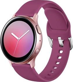 Wepro Silikonarmband S für Samsung Galaxy Watch Active 2 40mm fuchsia