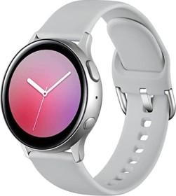 Wepro Silikonarmband S für Samsung Galaxy Watch Active 2 40mm grau