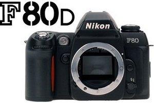 Nikon F80D (SLR) Gehäuse