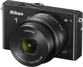 Nikon 1 J4 schwarz mit Objektiv VR 10-30mm 3.5-5.6 PD-Zoom (VVA211K001)