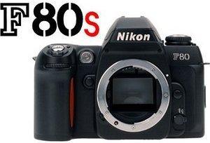 Nikon F80S (SLR) korpus (FAA364NA)