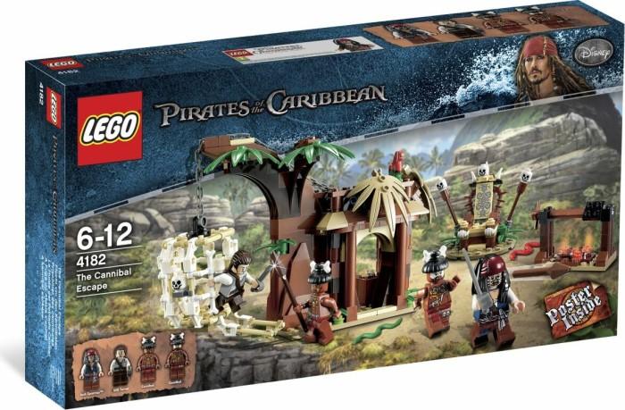 Lego Pirates Of The Caribbean Flucht Vor Den Kannibalen Ab 69
