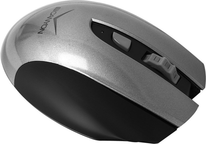 Canyon CNS-CMSW7G wireless Mouse grey, USB