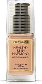 Max Factor Healthy Skin Harmony Miracle Foundation 35 Pearl Beige, 30ml